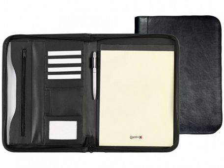 Capital Elite Zipped Conference Folders