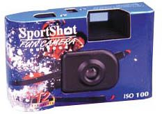 Deluxe Sport Shot Disposable Cameras