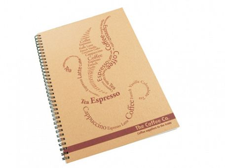 A4 Recycled Spiral Bound Eco Note Pads