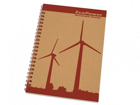 A5 Recycled Spiral Bound Eco Note Pads