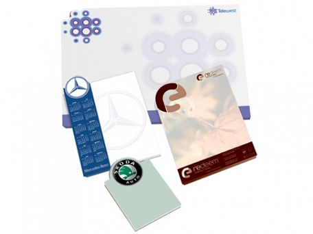 Logo Shaped Note Pads