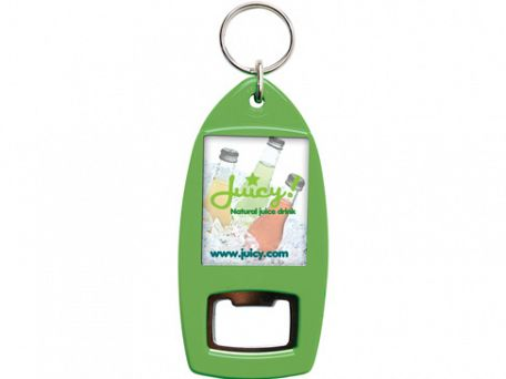 Acrylic Recycled Keyring Bottle Openers
