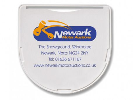Small Shield Shaped Self Adhesive Tax Disc Holders