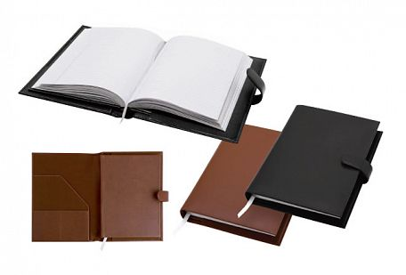 Warwick Leather A5 Book Cover