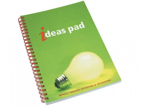 A5 Wire Bound Note Pads With Polypropylene Cover