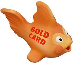Gold Fish Stress Toys